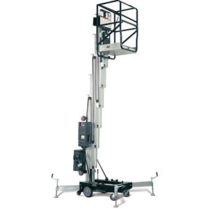 36' Single Man Lift Push-Type