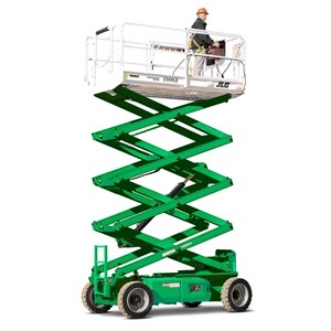 30-33' Electric Scissor Lift Wide Srt