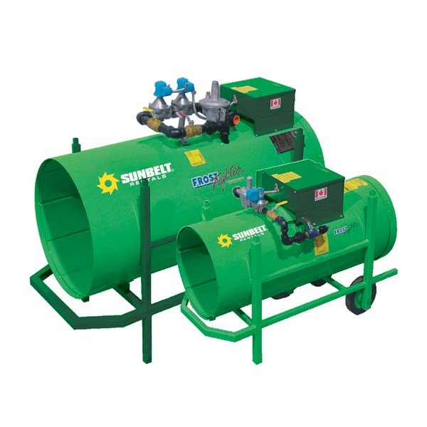 1,500,000 Btu Lp/Ng Direct Fired Torpedo Heater