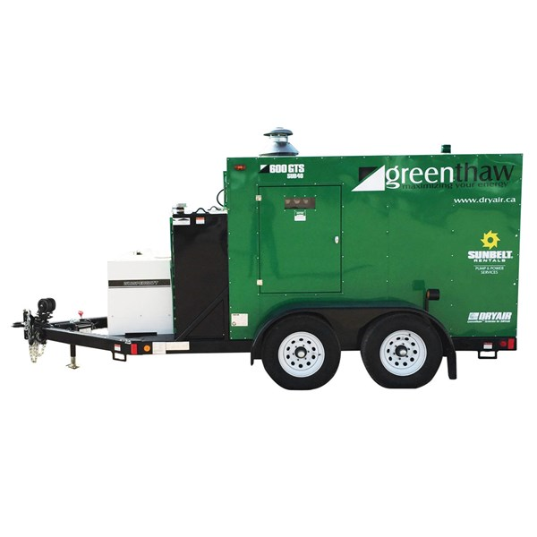 600K Btu Diesel Ground Heater