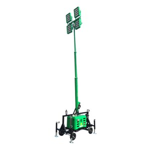 4000 Watt (Equivalent) Led Light Cart