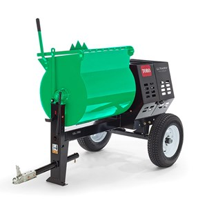 6 Cu ft Gas Mortar Mixer Towbehind