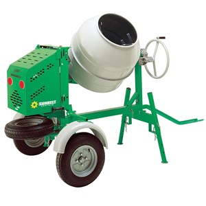 9 Cu ft Gas Mortar Mixer Towbehind