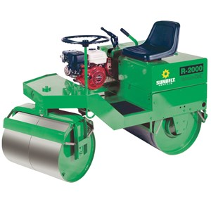 1 Ton Ride-On Static Roller