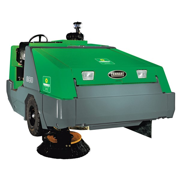 Large Industrial Rider Sweeper Gas - Outdoor