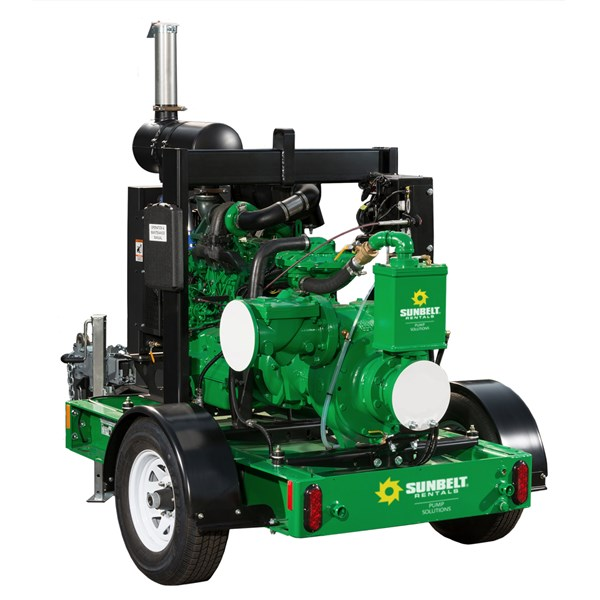 "6"" Diesel Automatic-Priming Trash Pump"