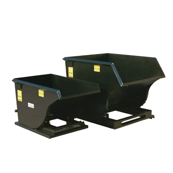 Trash Hopper Attachment For Forklift
