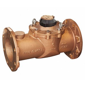 "10"" Mechanical Flow Meter"