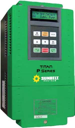 Pump-Variable Frequency Drive Ctrl Panel