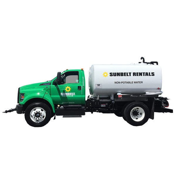Water Truck 2000-2999 Gallon