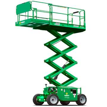 Rough Terrain Scissor Lift 25' - 28'