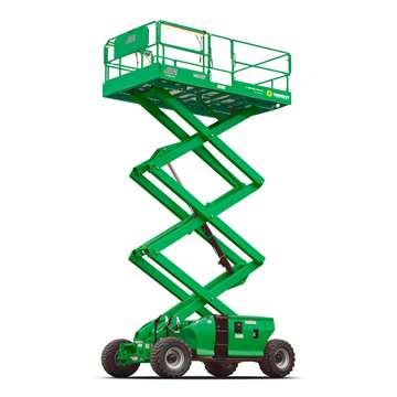 Rough Terrain Scissor Lift 29' - 33'
